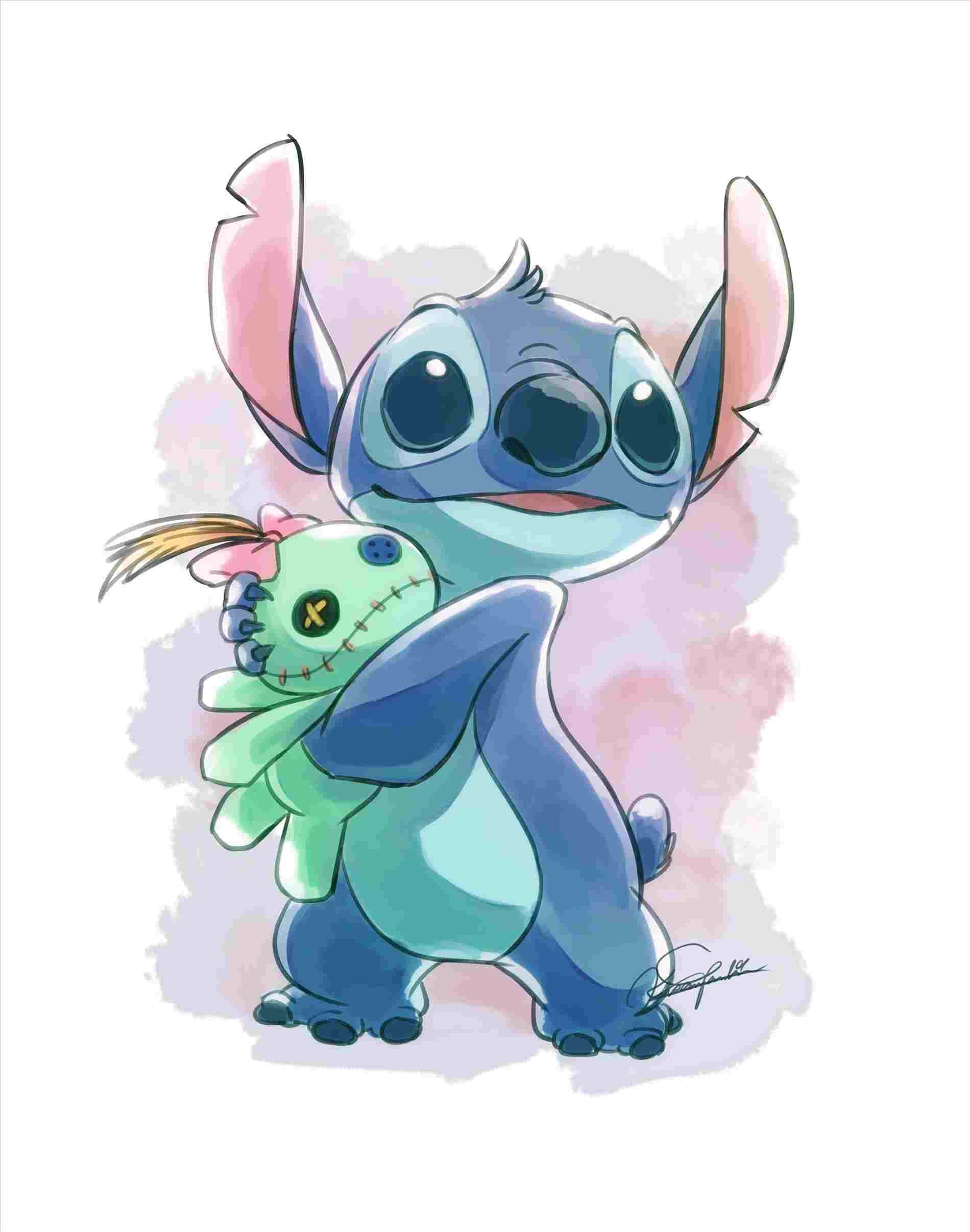 image free library Drawing stitch adorable. Disney sketch this is