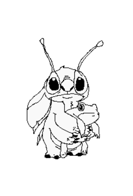 jpg royalty free stock Frog chatlands pose by. Drawing stitch black and white