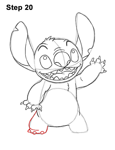 transparent download How to draw full. Drawing stitch body
