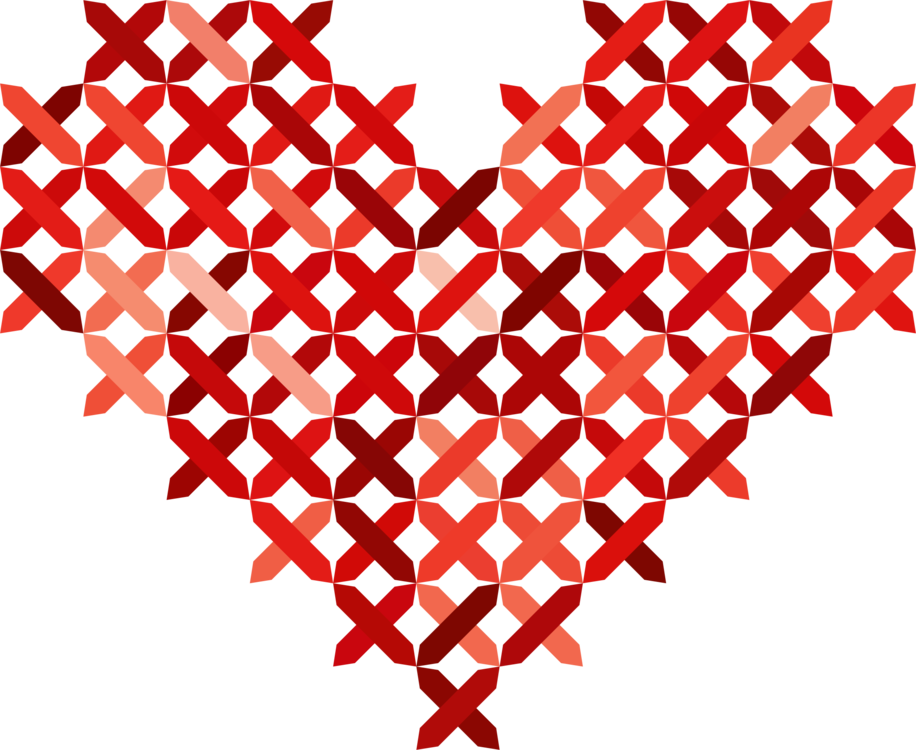 vector library download Cross sewing embroidery free. Drawing stitch heart