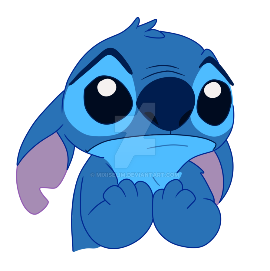 png freeuse stock Drawing stitch sad. By mixiselim on deviantart