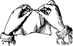 black and white download Drawing stitch sewing. Stitches hand if you