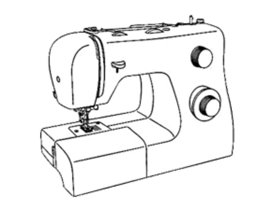clipart freeuse library Machine at paintingvalley com. Drawing stitch sewing