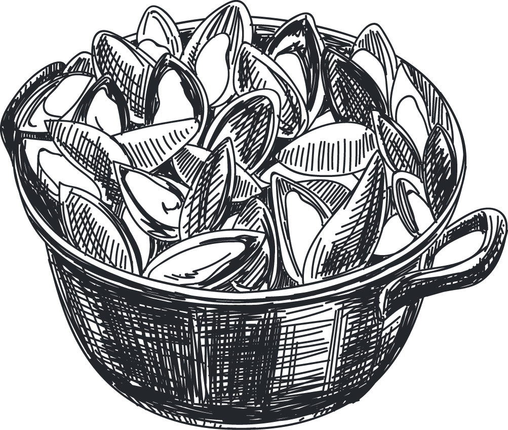 svg transparent Mussel italian cuisine seafood. Drawing storage artwork