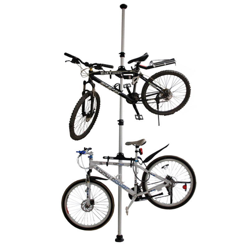 free stock Dual rack ceiling loading. Drawing storage bike