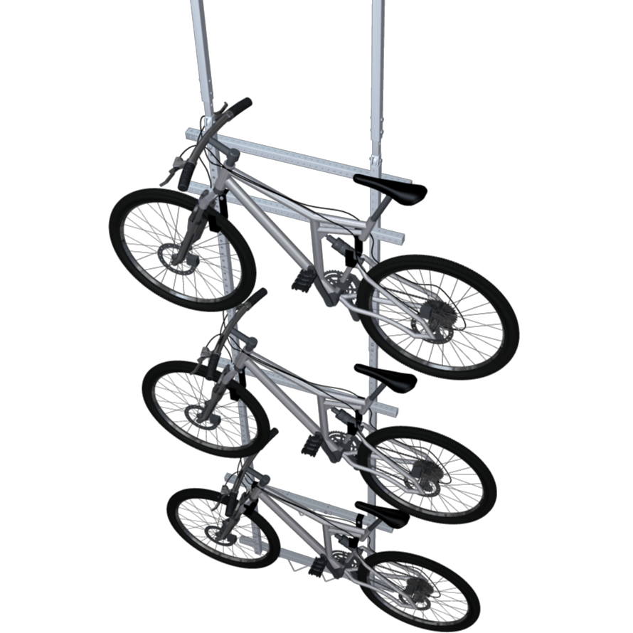 clipart freeuse stock Drawing storage bike. Lift extension kit canada