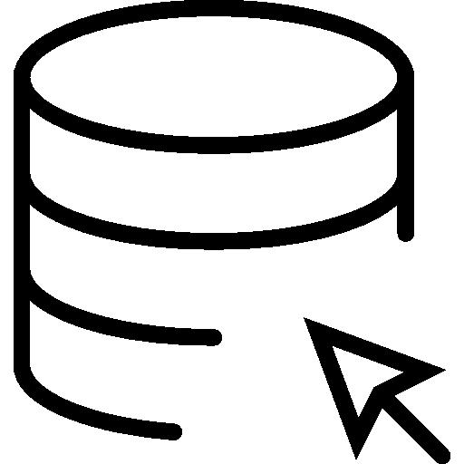 image freeuse Cloud icon page. Drawing storage flat