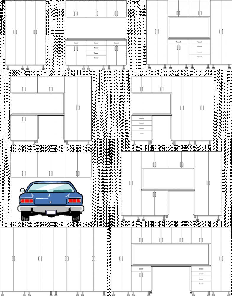clip art Drawing storage garage. Design your live software
