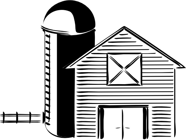 banner royalty free download Silo farming tank clip. Drawing storage grain