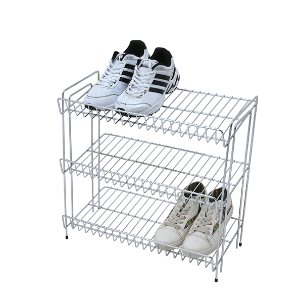svg black and white stock Drawing storage shoe. Shoes rack stainless steel