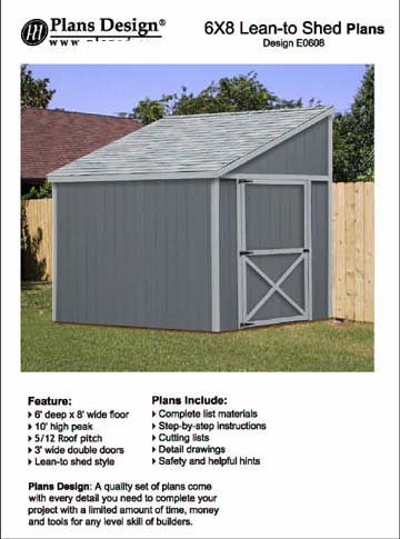 clip free stock Drawing storage tool shed. Plans lean to roof