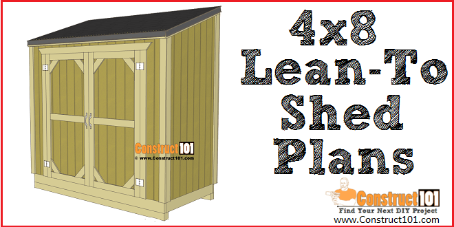 clipart transparent download Drawing storage tool shed. Lean to plans x