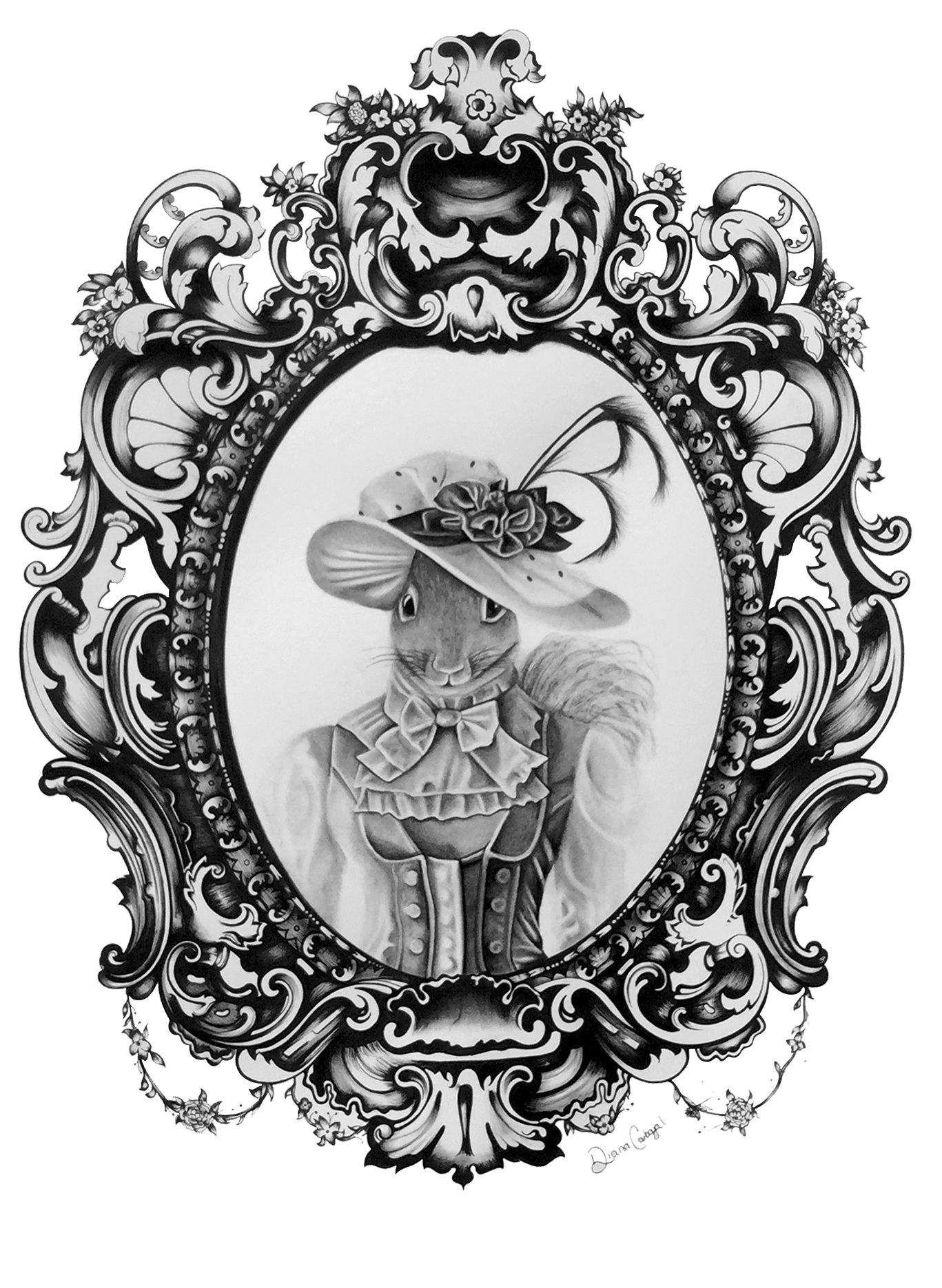 transparent library Victorian squirrel by diana. Drawing strawberries charcoal