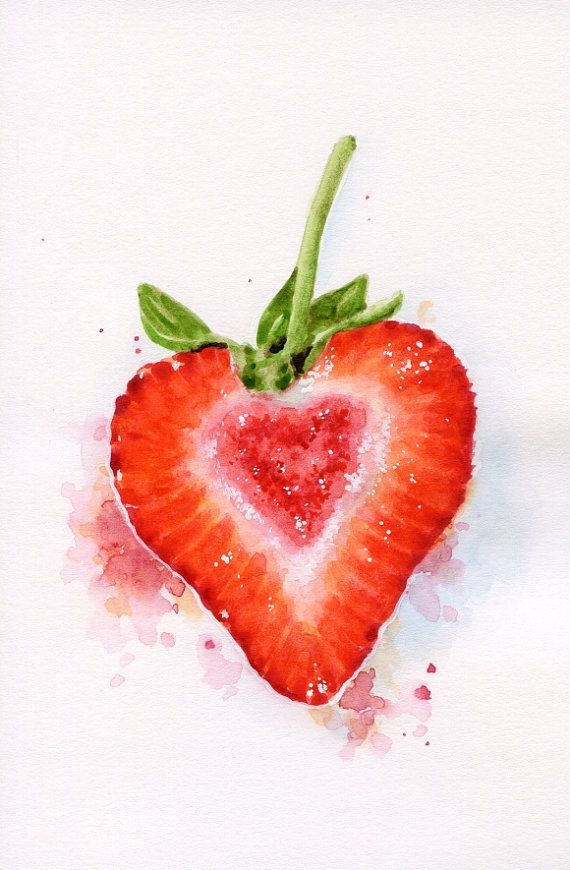 banner transparent download Shaped strawberry original miniature. Drawing strawberries heart