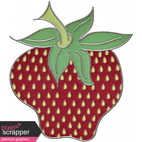 clip art freeuse stock Picnic day strawberry doodle. Drawing strawberries illustration