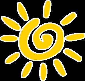 banner black and white stock Swirl clipart sun