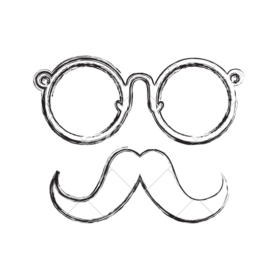 png stock Collection of free Vector mustache draw