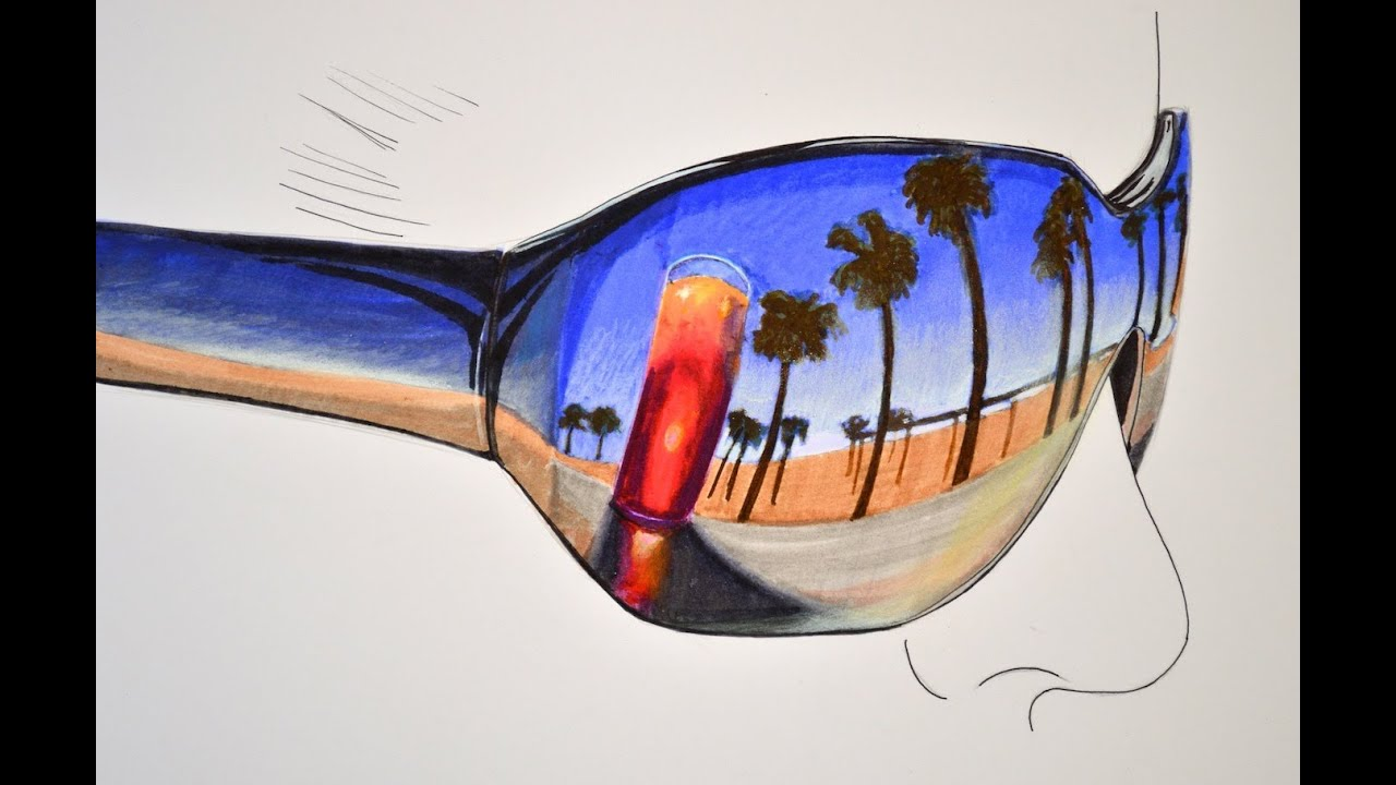 png transparent download How to draw a. Drawing reflections easy