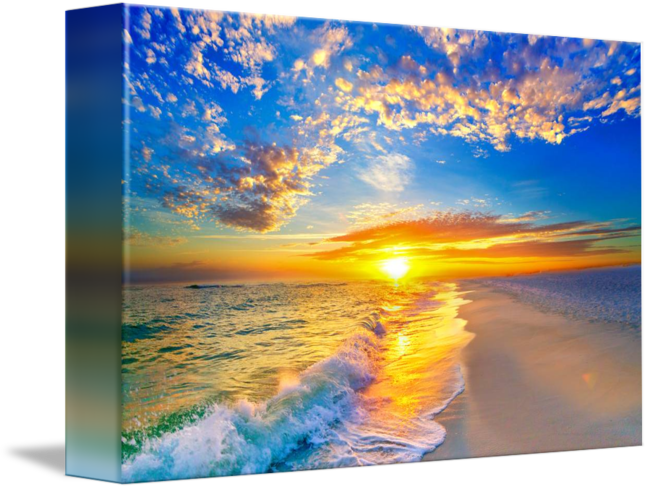clipart transparent stock Drawing nature sunset.  blue for free