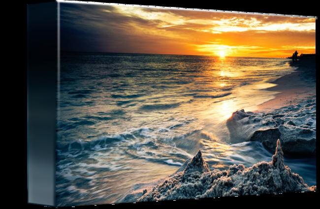 clip art library stock Destin Florida Sunset