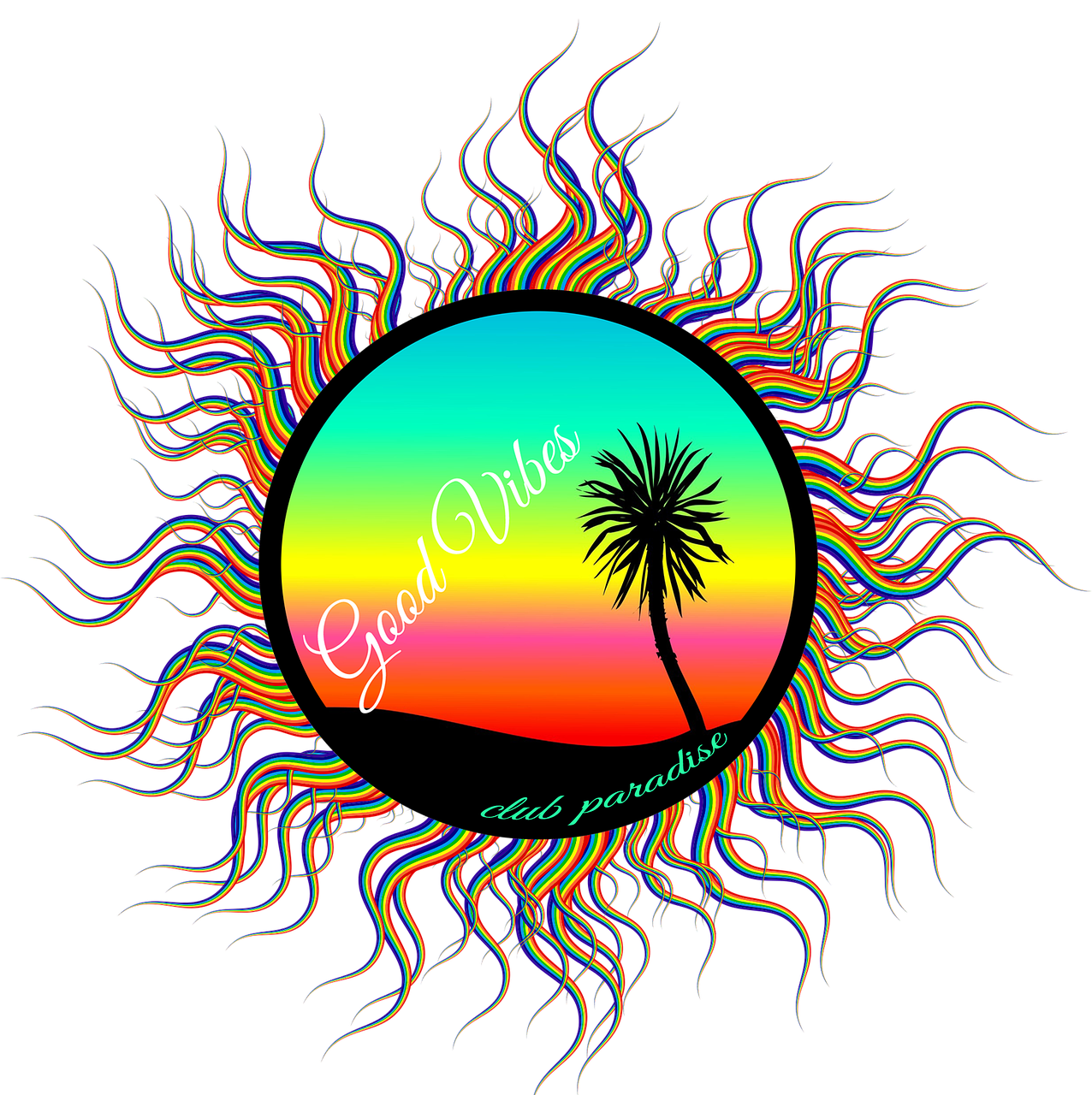 banner freeuse Palm tree at getdrawings. Drawing nature sunset
