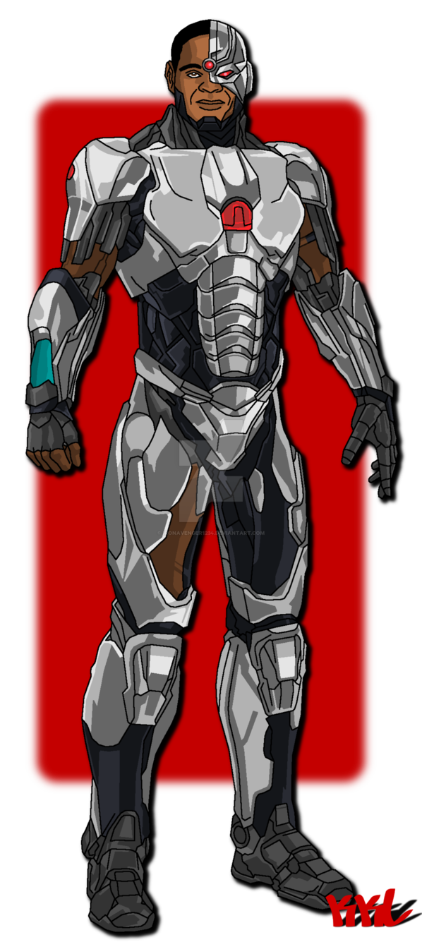 clip art black and white download By ironavenger on deviantart. Drawing superman cyborg