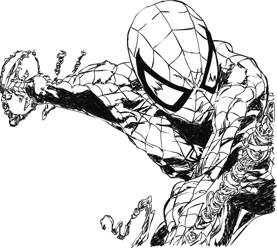 banner library Spiderman by Electric