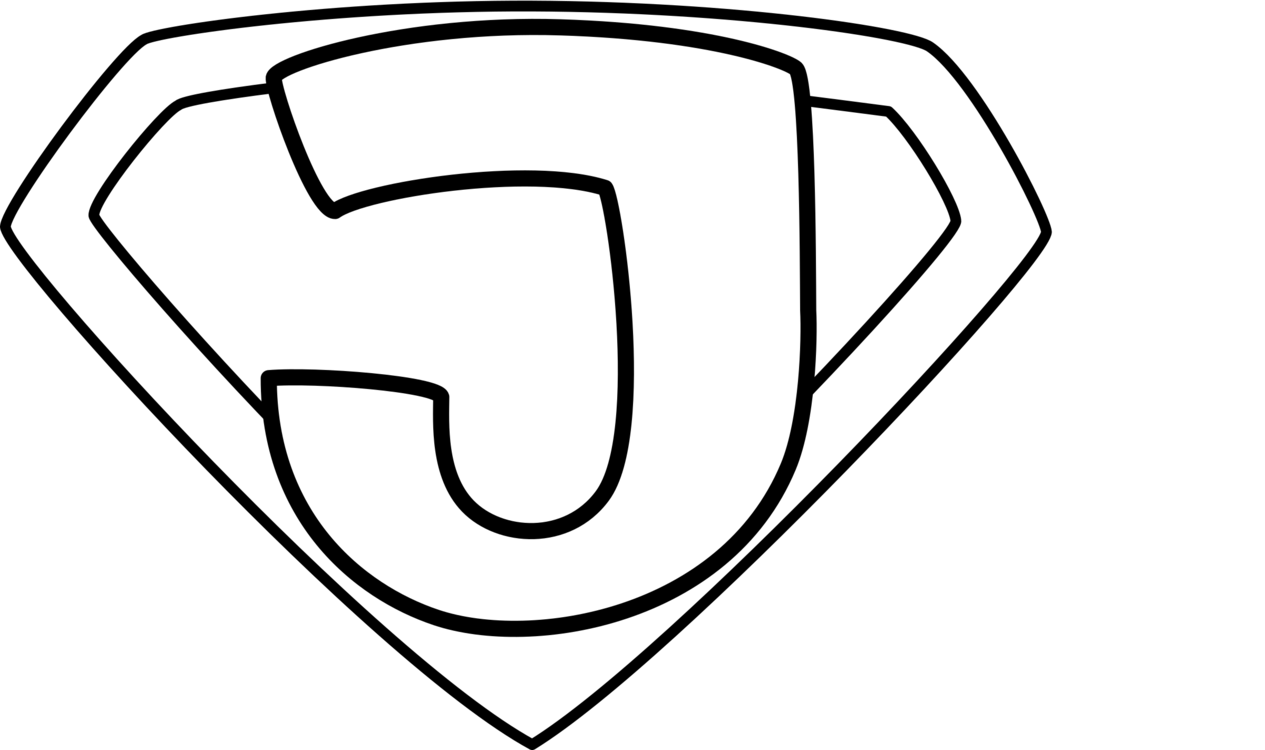 jpg transparent stock Drawing superman outline. Superhero christianity black and