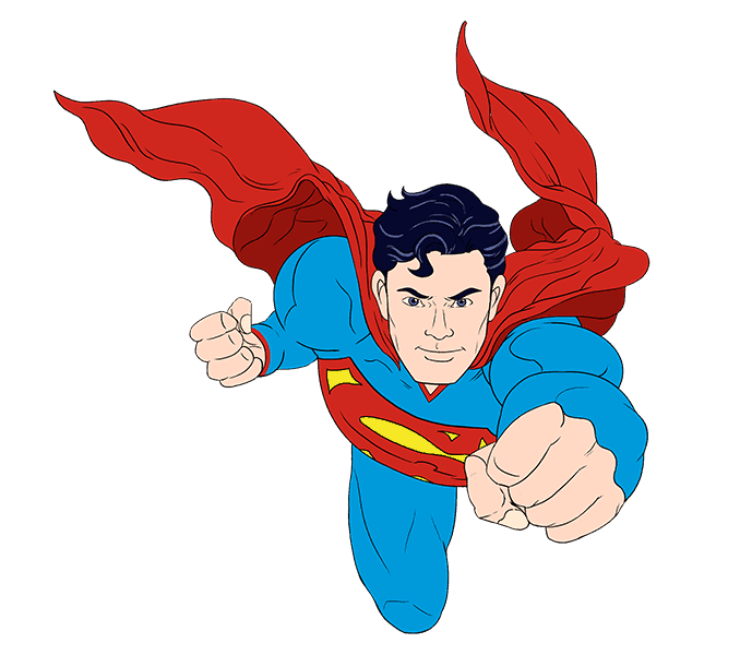 banner freeuse library Drawing superman. Logo youtube cartoon silhouette