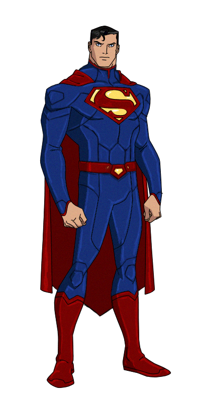 jpg library library Drawing superman animated. Dc new by kyomusha