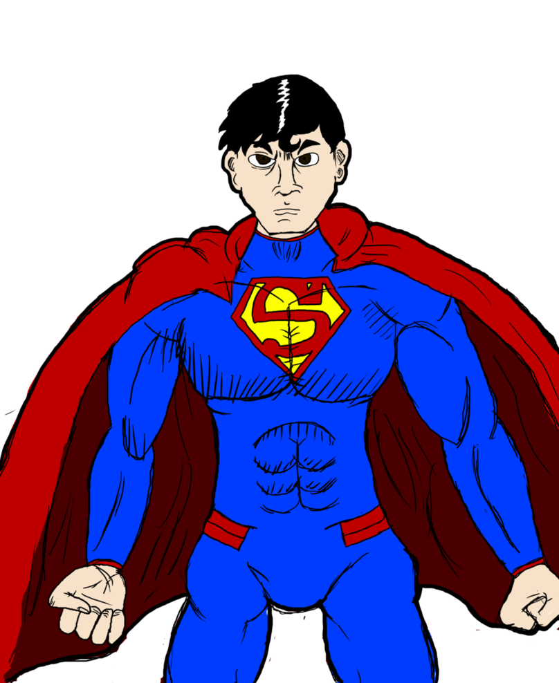 picture freeuse New by scaled scorpionsting. Drawing superman basic