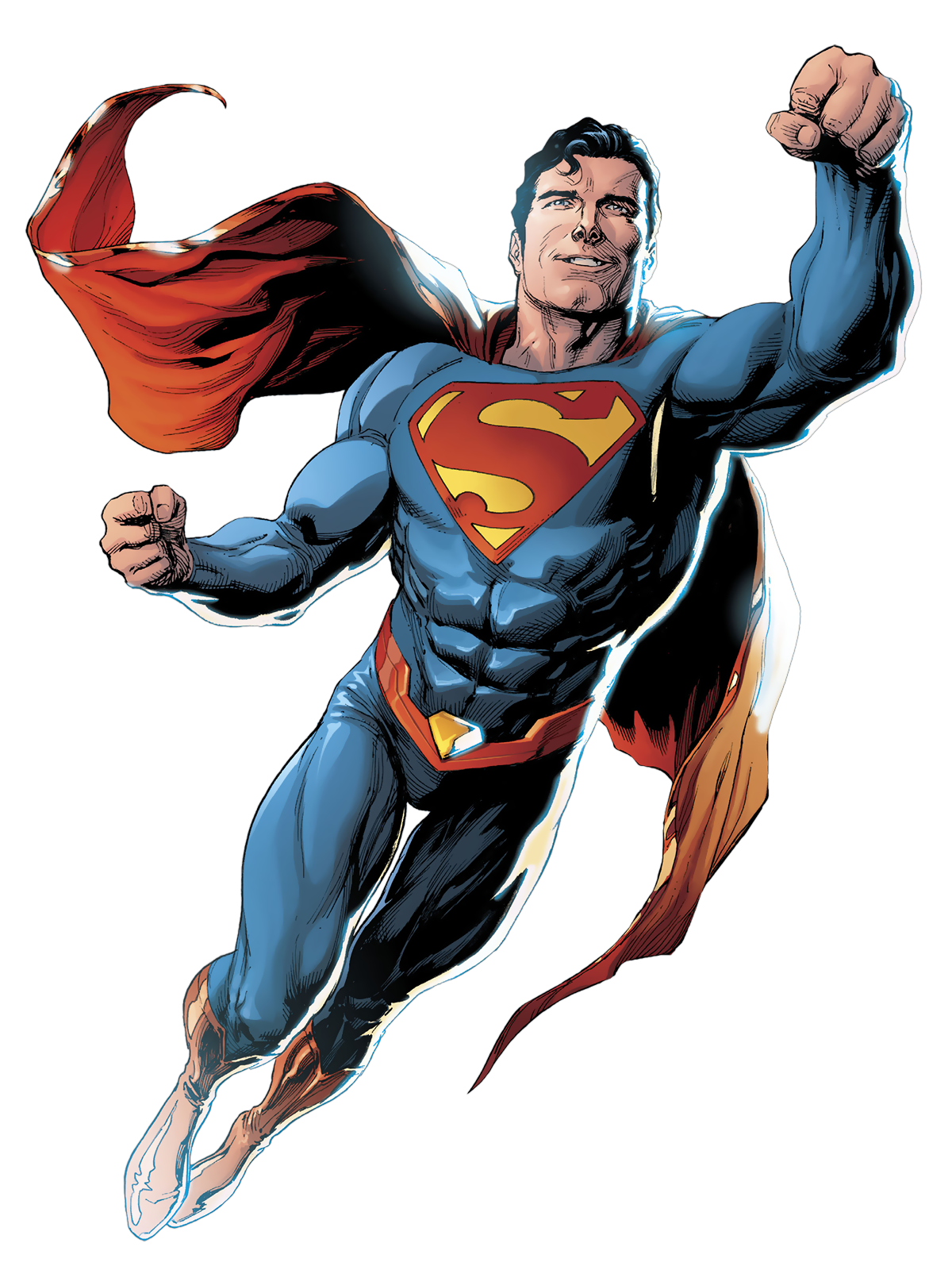 svg library stock Drawing superman comic art. Is a superhero published