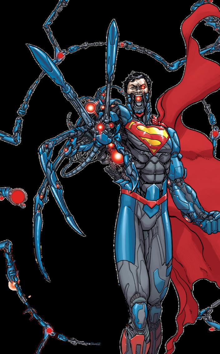 image New by mayantimegod deviantart. Drawing superman cyborg