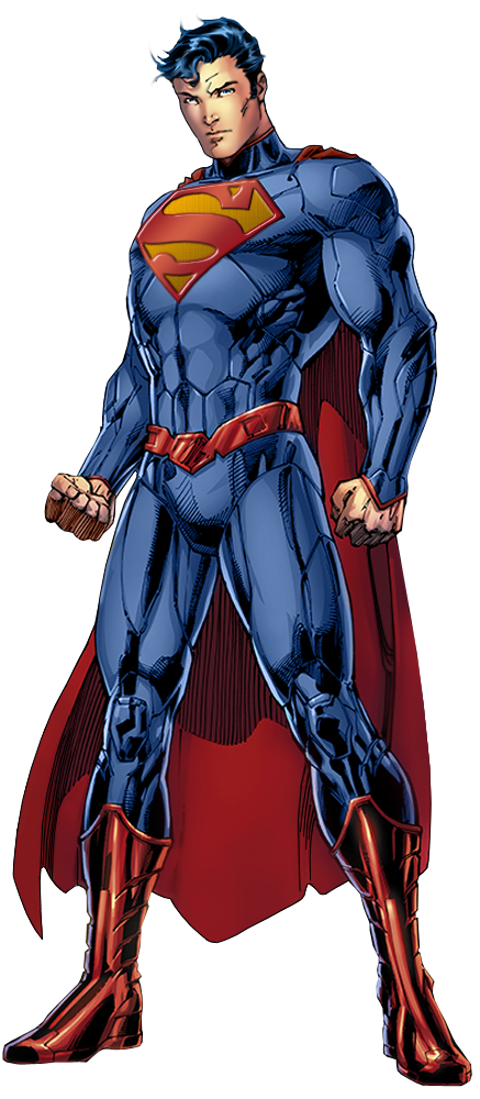 clip art free library Dc s new hey. Drawing superman full body