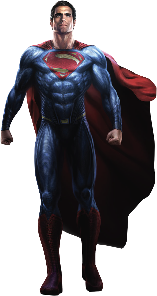 clip art freeuse transparent superman full body #117468208