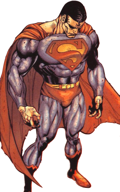 image library library What anime characters could. Drawing superman full body