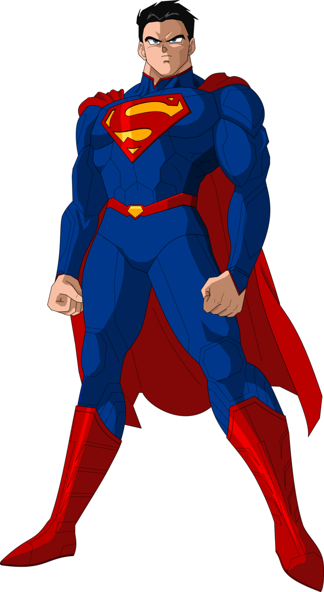 png stock New dbz style by. Drawing superman super man
