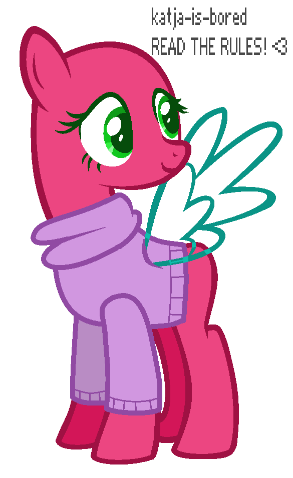 clip art stock Mlp in a cute. Drawing sweaters base
