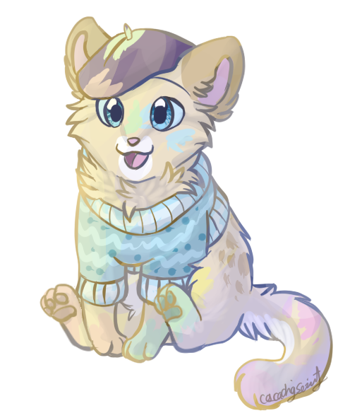 royalty free Sweater cat by cascadingserenity. Drawing sweaters big