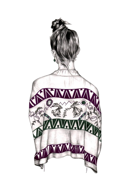 clip black and white library Drawing sweaters hipster. Christmas drawings tumblr google
