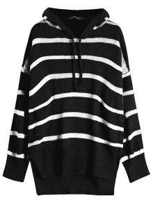 clip art free stock Drawing sweaters oversized sweater.  high low stripes