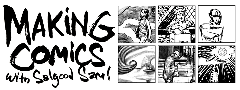 clipart royalty free library Drawing teacher comic. Making comics with salgood