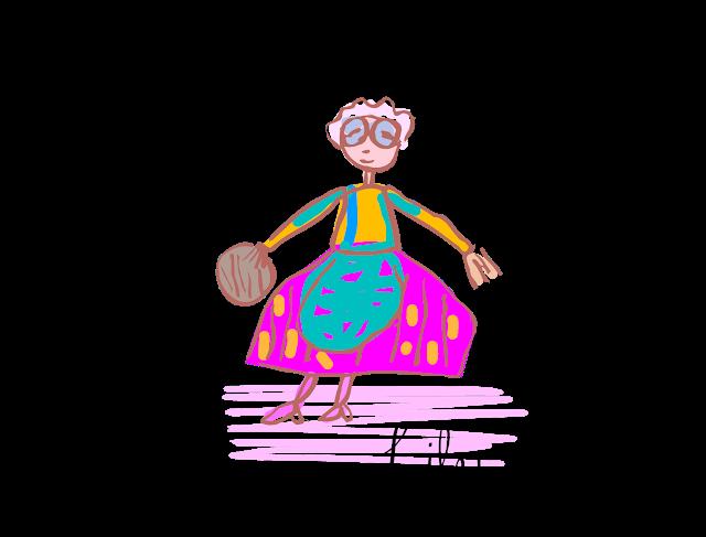 image stock Drawing teacher teaching.  female for free