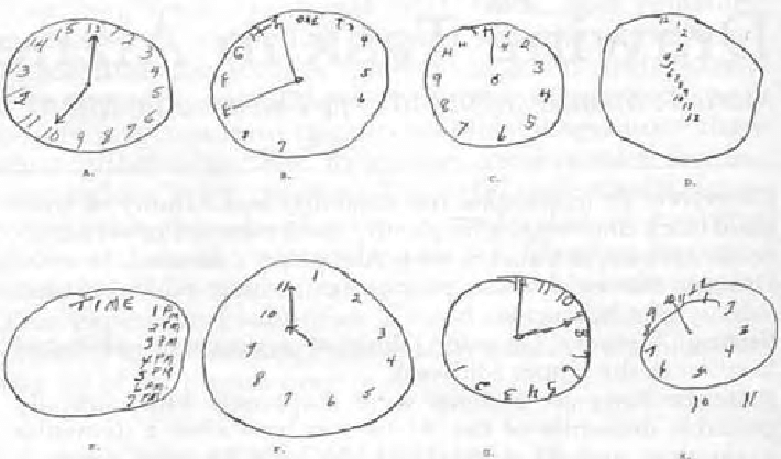 clipart royalty free Examples of clock performance. Drawing test.