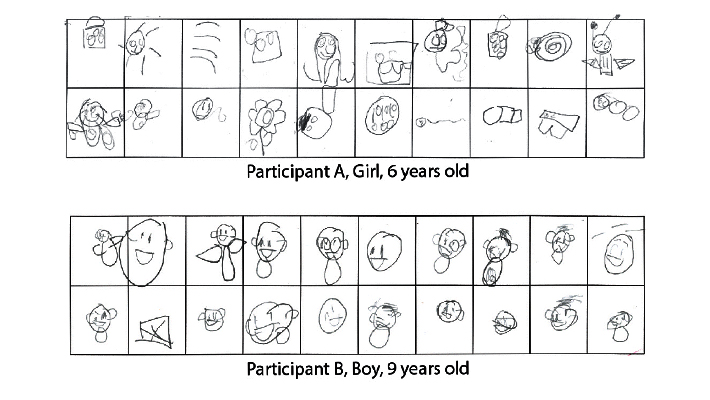 clip art stock Drawing test. Assessing your child s.