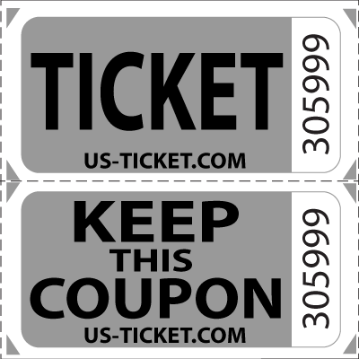 image library stock Premium Double Roll Raffle Tickets
