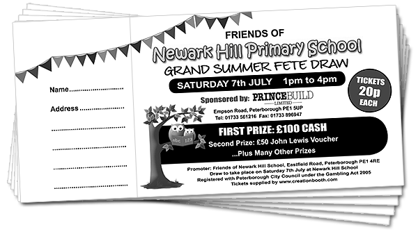 png royalty free library How To Design Raffle Tickets Raffle Ticket Standard Ticket Printing