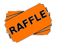 banner freeuse library drawing tickets orange #95726747