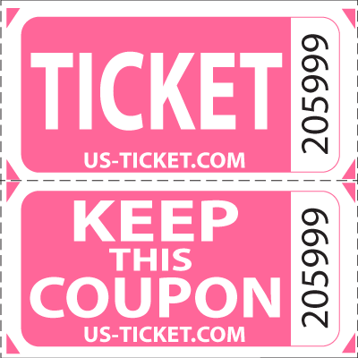 png black and white library Premium Double Roll Raffle Tickets