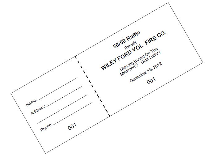 picture freeuse download Print Raffle Tickets